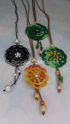 Nespresso, Dream Catcher, Home Decor, Necklaces, Craft, Ideas, Dreamcatchers, Decoration Home, Room Decor