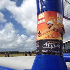#Bossaball ➡➡ The Netherlands - EK Volleyball Ladies 2015 from September.26 until October.04  #Join!  #volleybal #football #soccer #trampoline  Powered by #Avyna #trampolines And don't forget ➡➡ WK #beachvolleybal in the Netherlands, from June.26 until July.05  #turnen #trampolinespringen #voetbal #funtrampoline #ball #Jumpfree #jumping #beach