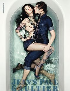 Alana Zimmer for Jean Paul Gaultier   Design Scene - Fashion, Photography, Style & Design