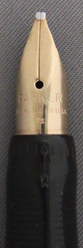 That's a serious piece of ordinance! Parker Pens, Expensive Pens, Vintage Pens, Fountain Pen Nibs, New Pen, Hand Lettering, Dip, Graphics, Black