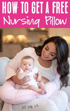 Life Hacks for New Moms with a Newborn Baby! This cozy pillow will make nursing a breeze, and is perfect for new moms!  Or... grab an extra one to stash away as a sweet Baby Shower gift!  Have you gotten yours yet? Free Baby Stuff, Cool Baby Stuff, Baby Hacks, Baby Tips, Life Hacks Every Girl Should Know, Baby Freebies, Nursing Pillow, Baby On The Way, Money Saving Tips