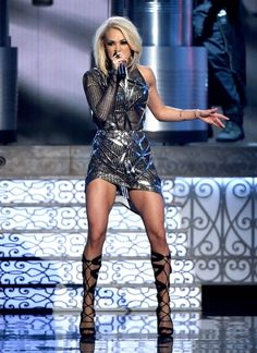 Carrie Underwood = Hair Goals, Body Goals, Life Goals.