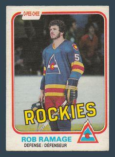 Rob Ramage # 79 - 1981-82 O-Pee-Chee Hockey