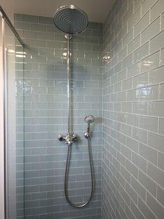 gray tile shower ideas - Google Search