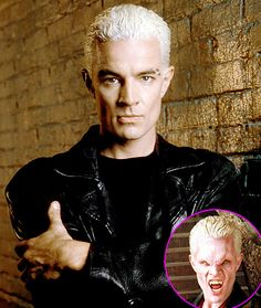 Though he played one of the most adored British vampires in pop culture, James Marsters is an American actor, born in California (no, not Sunnydale). He first appeared in season 2 as the punk rock vamp Spike (a/k/a William the Bloody), who was hopelessly smitten with his vampire lover Drusilla. It started as a minor guest role, but after fans responded to the character, he ultimately became a series regular, Buffy's love interest, and eventually the person who saved the entire world.