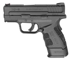 Springfield is currently no longer shipping items with the XD gear. The XD Sub-Compact from Springfield Armory is designed to bring you the most in a concealed carry pistol. Springfield Xd Mod 2, Springfield Armory, Springfield Firearms, Protection Rapprochée, 40 S&w, Survival Weapons, Survival Kit, Guns And Ammo, Concealed Carry