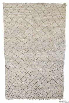 Vintage Moroccan Wedding Blanket 3130