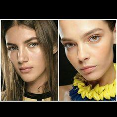 """Íme, a raw refined trend, mely a modern """"smink-barnaságot"""" állította a középpontjába.  http://marieclaire.hu/Szepseg/2016/06/13/Bemutatjuk-a-raw-refined-trendet #makeup #beauty #beautystic #makeuptrend #mactrend #summertrend"""