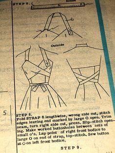 simplicity halter dress 1949 by carbonated Halter Maxi Dresses, Vintage Patterns, Nice Dresses, Explore, Sewing, Photos, Fashion, Moda, Cute Dresses