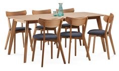 DORIS-ruokaryhmä 6 tuolilla