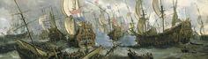 In april 1672 vielen Frankrijk en Engeland de Republiek aan, het begin van de Hollandse Oorlog.Al snel werd de toestand op het land kritiek zodat 1672 de Nederlandse geschiedenis in zou gaan als het Rampjaar.De Ruyter lukte het om het initiatief te nemen in de strijd. In de Slag bij Solebay viel hij aan op 7 juni 1672 de  Engels-Franse vloot toen die zich op de Engelse oostkust bevoorraadde en bracht zulke grote schade toe dat plannen om op de Zeeuwse kust, om daar engelse troepen neer te…