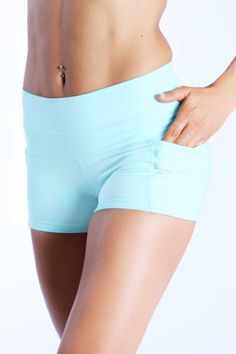 """The Pop Short 2.0 features a wide waist band designed to flatter every body shape as it smooths over your hips! The inseam is 3 1/2"""" long to give you proper cov"""