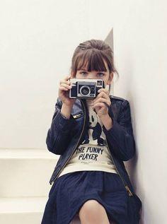 Simple-Kind-of-Life: Mini Fashion Fashion Kids, Little Girl Fashion, Look Girl, My Girl, Estilo Cool, Cooler Look, Shooting Photo, Little Fashionista, Mango Fashion