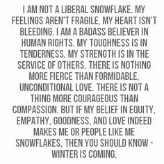 To all my snowflakes: #winteriscoming rg: @luamky