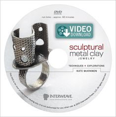 Sculptural Metal Clay Jewelry Video (Download) - Interweave
