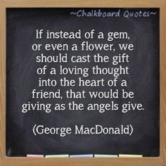 Friendship - George MacDonald