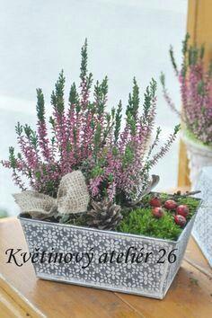 Container Plants, Garden Planters, Fall Decor, Christmas Decorations, Basket, Wreaths, Autumn, Winter, Flowers
