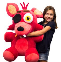 Boxshot: Five Nights at Freddy's Foxy 22 in Plush - Only at GameStop by Funko Freddy S, Freddy Plush, Five Nights At Freddy's, Fnaf Foxy Plush, Horror Video Games, Funtime Foxy, Freddy Fazbear, Turtle Birthday, Sister Location