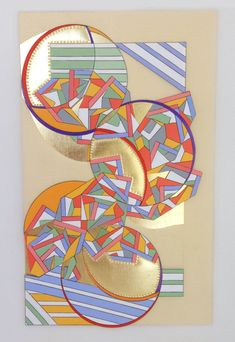 Geometric Art Abstract Painting Michele A Caron by MicheleACaron