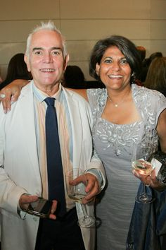 Earl Starkey and Tanuja Kulkarni