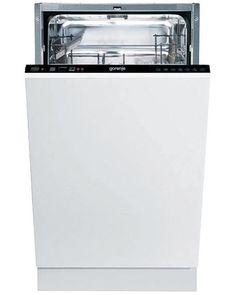 DFS05010B Slimline Dishwasher Black Slimline
