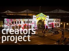 Obscura Digital's Massive Projection Series Turns San Francisco's @explOratorium Into A Technicolor Canvas