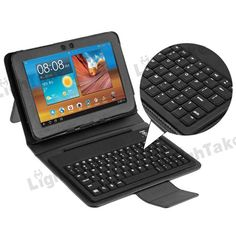 "Wireless Bluetooth Keyboard Case for Samsung Galaxy Tab 8.9"" P7310 Tablet PC - Black"