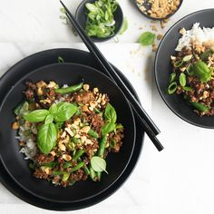 """#RecipeoftheDay: Chinese Pork Mince Stir Fry by purplegunn - """"We loved this! Great flavour, quick and easy to prepare and versatile."""" - seremeta #ChineseNewYear"""