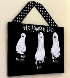 kids crafts Halloween DIY by carlene