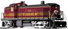 Boston & Maine TMCC RS-3 Diesel #1538  6-21600