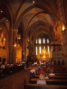Matthias church, Budapest castle area