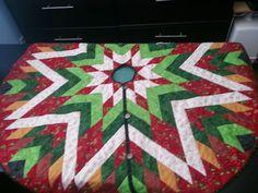 Bethlehem Star Tree Skirt by LilacCottageDesigns