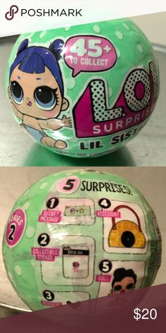 LOL Surprise Little Sisters Doll 5 Layers Series 2 Brand new ready to ship.  Hot Xmas Toy 2017. lol Other