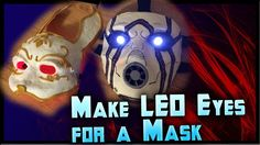How to Make LED Eyes For a Mask! Light Up Eyes Tutorial Cheap! Bracelet LEDs perfect for glowing eye portraits! Cosplay Armor, Cosplay Diy, Halloween Cosplay, Best Cosplay, Cosplay Helmet, Thor Cosplay, Casual Cosplay, Anime Cosplay, Halloween Ideas