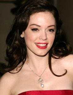 Rose McGowan. So she is quite a bit younger than me. Not bad.