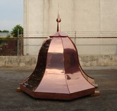 Copper Domes and Roofs - Copper Summit, Inc. - Copper: Awnings ...