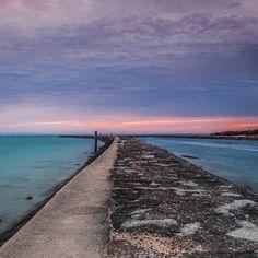 Beautiful sunrise down at Port Fairy on the Moyne River. Great shot courtesy of @christophermaxwell #liveinvictoria #victoria #vic #portfairy #moyneriver #greatsouthcoast #greatoceanroad #sunrise #morning #pinks #purple #breakwall #sea #ocean #surf #waves #beautiful #scenic #nature #love #australia #liveinaustralia by liveinvictoria