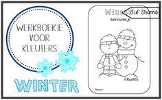 Thema winter: werkboekje voor kleuters
