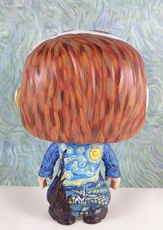 Vincent van Gogh custom Funko Pop Vinyl Figurine Art by boopstoof