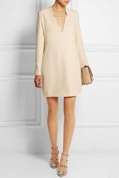 Victoria, Victoria Beckham|Crepe shift dress|NET-A-PORTER.COM