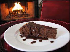 Chocolate Port Wine Cake.