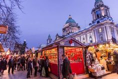 20 Best Christmas Markets in Ireland - from cosy moseys to festival fun - Independent. Christmas In Ireland, Best Christmas Markets, Gourmet Hot Dogs, Christmas Quiz, Belfast City, Ireland Travel, Northern Ireland, The Places Youll Go, Cosy