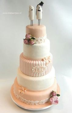 Bolo de casamento romântico | Romantic wedding cakes