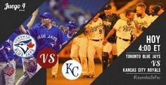 Los #MLB Playoffs 2015 continúan con el cuarto juego entre KC Royals y Toronto Blue Jays. #LeyendasDePaz #OwnOctober #ALCS #Bluejays #Royals