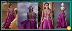 "The FollowUP: Disney's Jasmine and the evolution of the ""princess"" aesthetics Disney Jasmine, Princess Jasmine, Princess Line, Disney Princess, Wardrobe Design, Great Movies, Live Action, Evolution, Aesthetics"