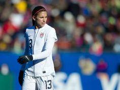 Alex Morgan registered her first career hat trick for U.S. Women's National Soccer team 4-0 victory over Sweden at Algarve Cup