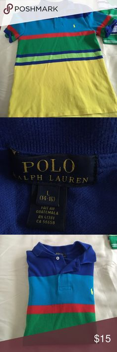 EUC Polo Shirt Boys Gently Used Polo Shirt Boys.. Bundle Deal, both used polosN⚡️🌞1Day Only Sale🌞⚡️NWT ...//Final Price Polo by Ralph Lauren Shirts & Tops Polos