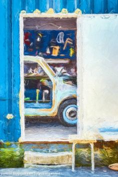 A pic a day -  sometimes two.: Blick in die Werkstatt