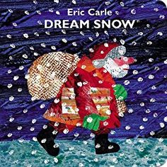 Make a snow sensory bottle inspired by the book Dream Snow by Eric Carle. It's great for toddlers and older kids, too.