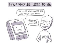 How phones used to be